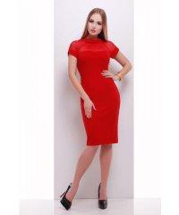 платье Алесандра к/р красный