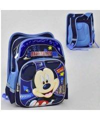 Рюкзак школьный N 00206 (30) Микки Маус 4 кармана, спинка ортопедическая