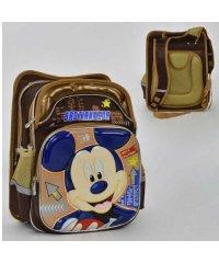 Рюкзак школьный N 00205 (30) Микки Маус 4 кармана, спинка ортопедическая