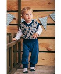 Комплект для мальчика (Жилетка и Брюки) 9861-046