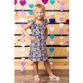 Платье для девочки с рюшей 6027-002