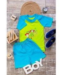 Футболка- реглан и шорты для мальчика 9708-001-33