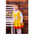 Сарафан для девочек и блуза 9524-030-22