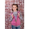 Комплект для девочки (Жилетка и Джемпер) 9126-016-33