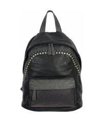 Рюкзак №7022 Чёрный с серым