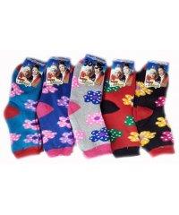 Подростковые махровые носки