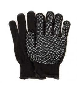 Перчатки рабочие черные,