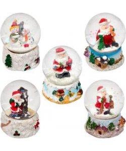 Шар метель «Дед Мороз, Снеговик» 21–2