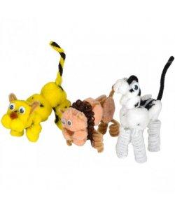 Поделка детская «Собери животное»