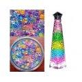 Гелевые шарики для цветов, средние, цветные (гидрогель)
