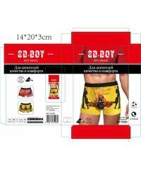 """Боксеры мужские """" CD.Boy """" Y5203"""