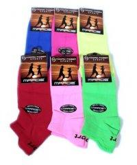 """Низкие женские носки микрофибра """" Marde """" микс"""
