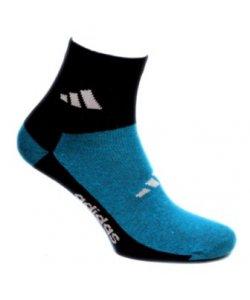 """Женские носки средние """"Adidas"""" двойной цвет"""