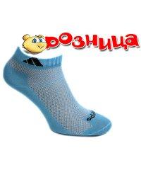 "Женские короткие носки ""Adidas"" сетка МК/Шт"