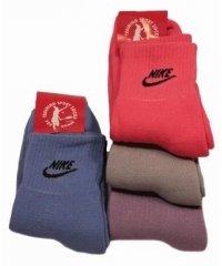 """Махровые женские носки """" Nike """" МЛК"""