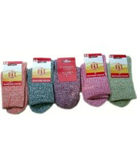 """Шерстяные женские носки """"Q&S"""" Сен1422"""