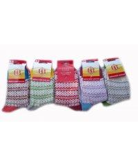 """Шерстяные женские носки """"Q&S"""" Сен1423"""
