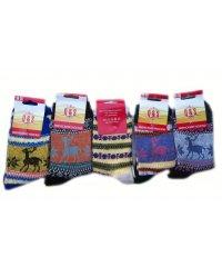 """Шерстяные женские носки """"Q&S"""" Сен1425"""